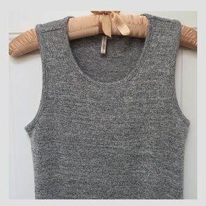 BR NWOT Gray Marbled Tank Top
